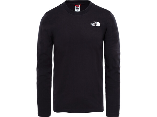 The North Face Easy T-shirt à manches longues Homme, tnf black